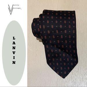 Lanvin Silk Necktie